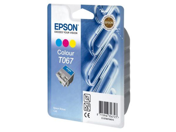 Картридж EPSON T067040 цветной для ST C48