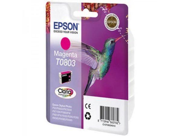 Картридж EPSON T08034010 малиновый для Stylus Photo P50/PX660