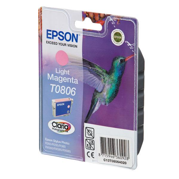 Картридж EPSON T08064010 светло-малиновый для Stylus Photo P50/PX660
