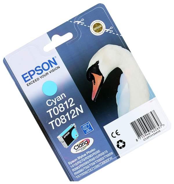 Картридж EPSON T08124A синий увеличенный для ST R270/R290/RX590