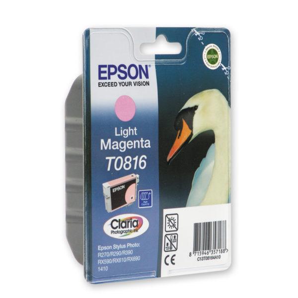 Картридж EPSON T08164A светло-малиновый увеличенный для ST R270/R290/RX590