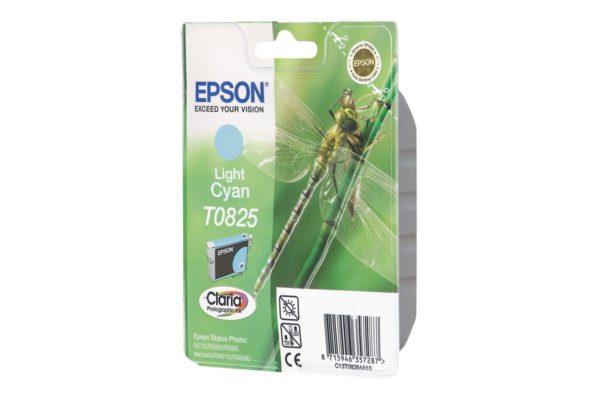 Картридж EPSON T08254A светло-синий для ST R270/R290/RX590