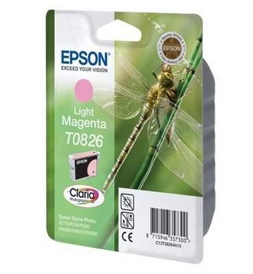 Картридж EPSON T08264A светло-малиновый для ST R270/R290/RX590