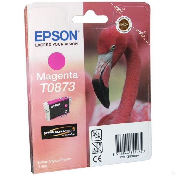 Картридж EPSON T08734010 малиновый для ST R1900