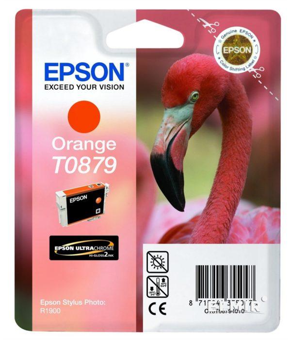 Картридж EPSON T08794010 оранжевый для ST R1900