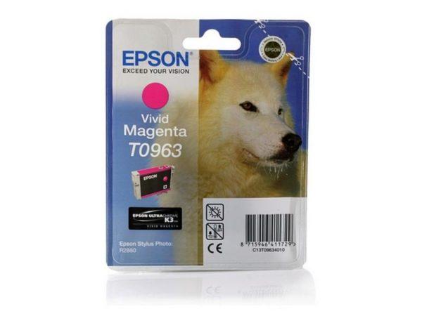Картридж EPSON T09634010 насыщенный-малиновый для PH R2880