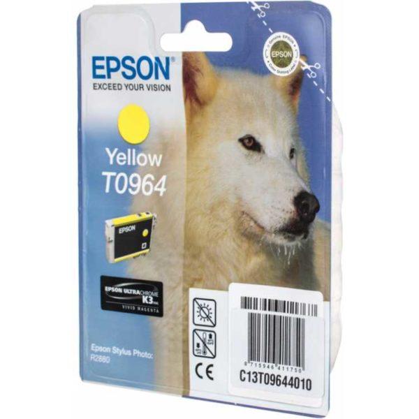 Картридж EPSON T09644010 желтый для PH R2880