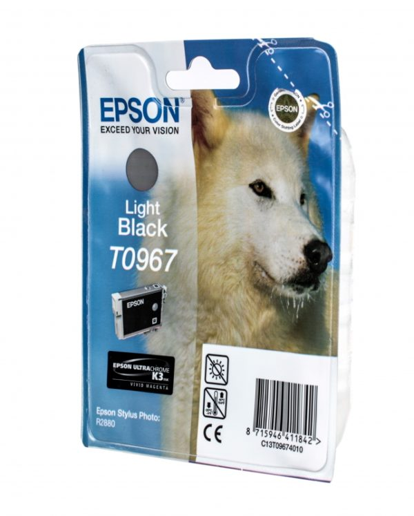 Картридж EPSON T09674010 светло-серый для PH R2880