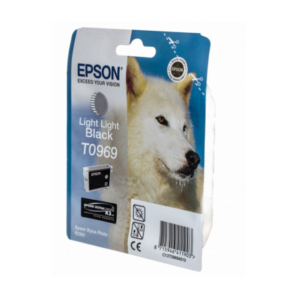 Картридж EPSON T09694010 светло-серый для PH R2880