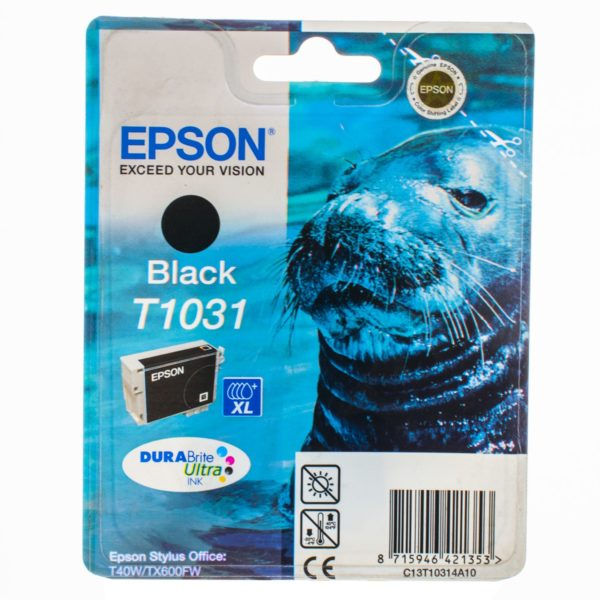 Картридж EPSON T10314A10 черный увеличенный для ST Office T30/T40W/TX600FW