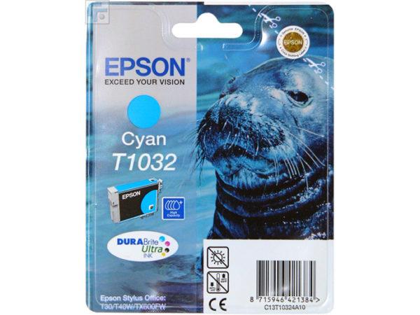 Картридж EPSON T10324A голубой увеличенный для ST Office T30/T40W/TX600FW