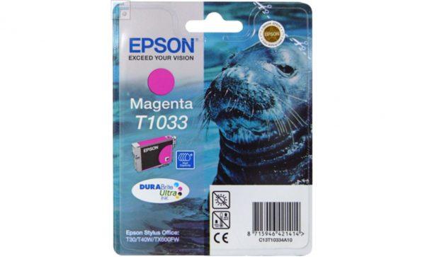 Картридж EPSON T10334A малиновый увеличенный для ST Office T30/T40W/TX600FW