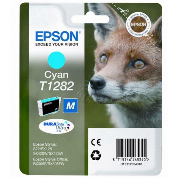 Картридж EPSON T12824010 голубой для S22/SX125