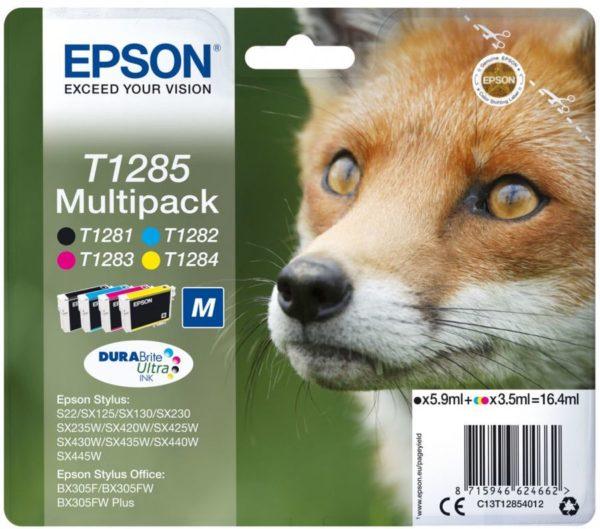 Картридж EPSON T12854010 мульти-упаковка для S22/SX125