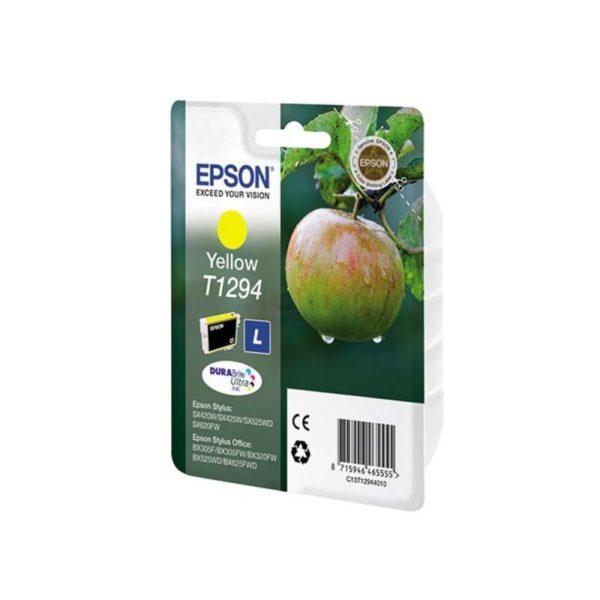 Картридж EPSON T12944010 желтый для SX420W/BX305F
