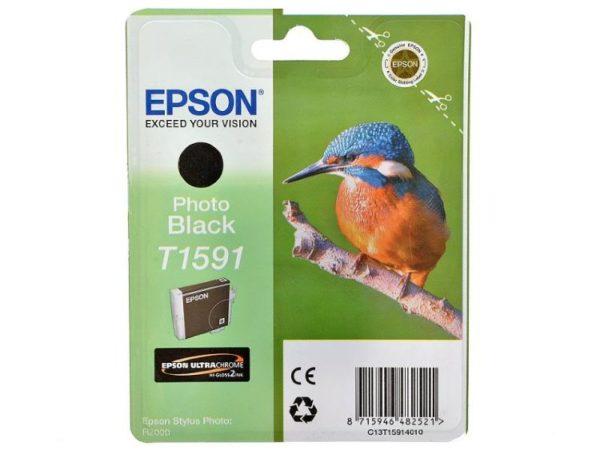Картридж EPSON T1591 фото-черный для для Stylus Photo R2000