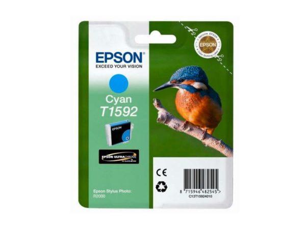 Картридж EPSON T1592 синий для для Stylus Photo R2000