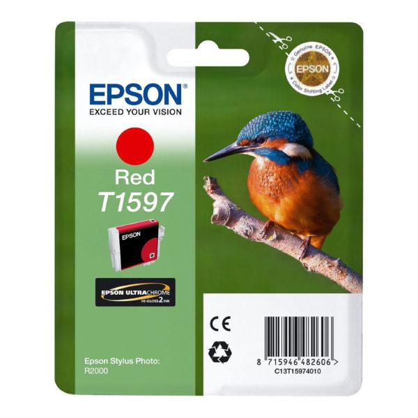 Картридж EPSON T1597 красный для Stylus Photo R2000