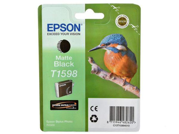 Картридж EPSON T1598 матовый-черный для Stylus Photo R2000
