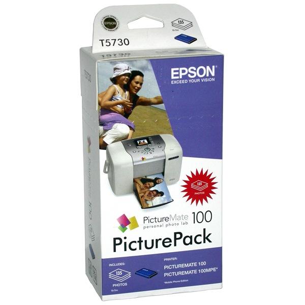 Картридж EPSON T573040 PicturePack 100 ресурс до 135