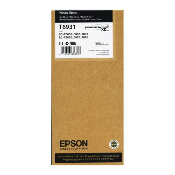 Картридж EPSON T693100 фото-черный для SC-T3000/T5000/T7000 UltraChrome XD