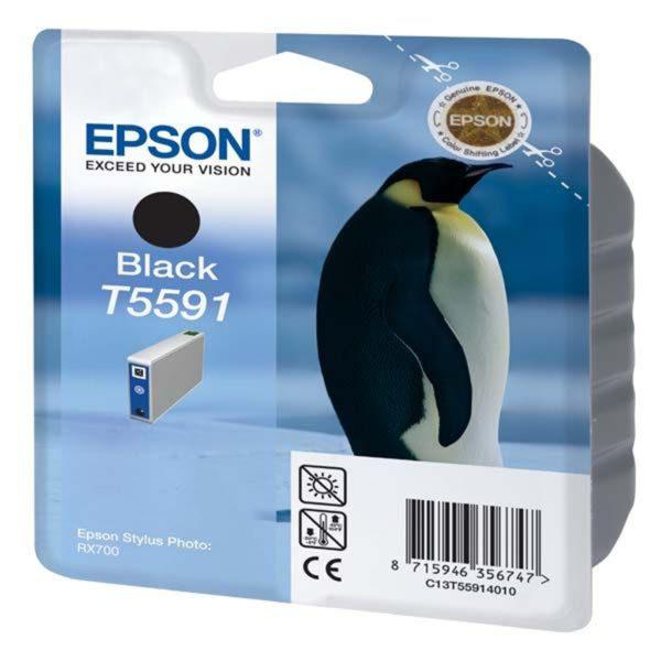 Картридж EPSON T559140 черный для МФУ RX 700