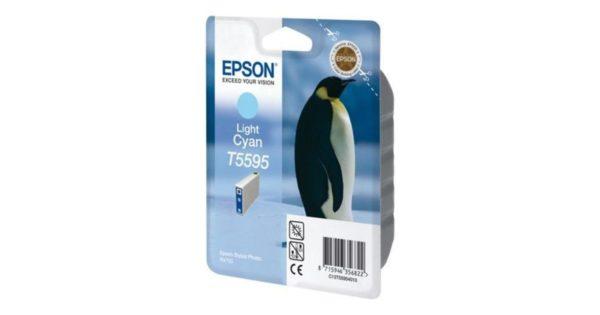 Картридж EPSON T559240 голубой для МФУ RX 700