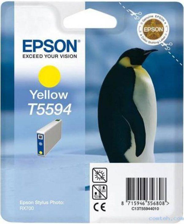 Картридж EPSON T559440 желтый для МФУ RX 700