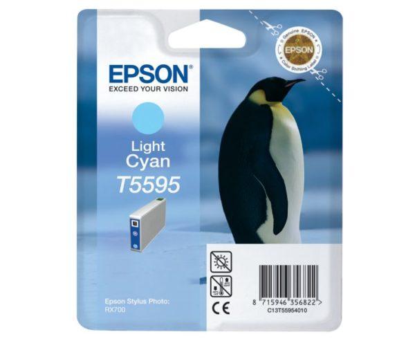 Картридж EPSON T559540 светло-голубой для МФУ RX 700