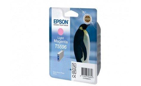 Картридж EPSON T559640 светло-малиновый для МФУ RX 700