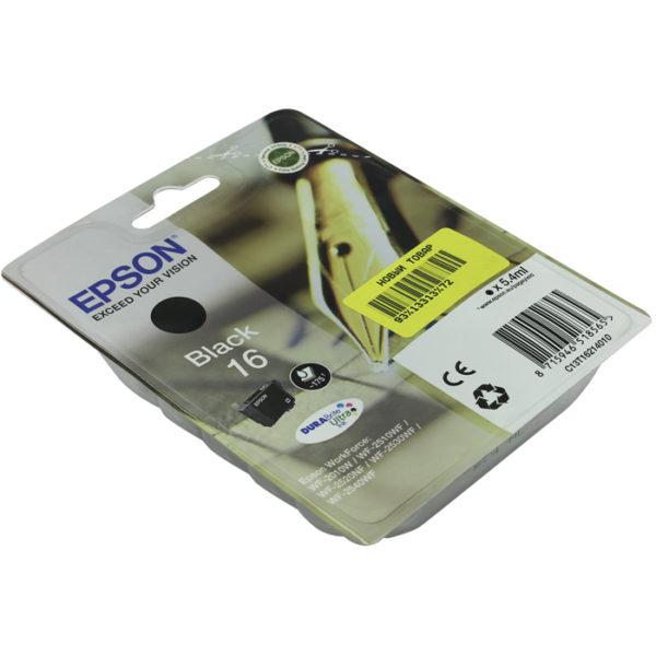 Картридж EPSON C13T16214010 черный стандартный для WF-2010W