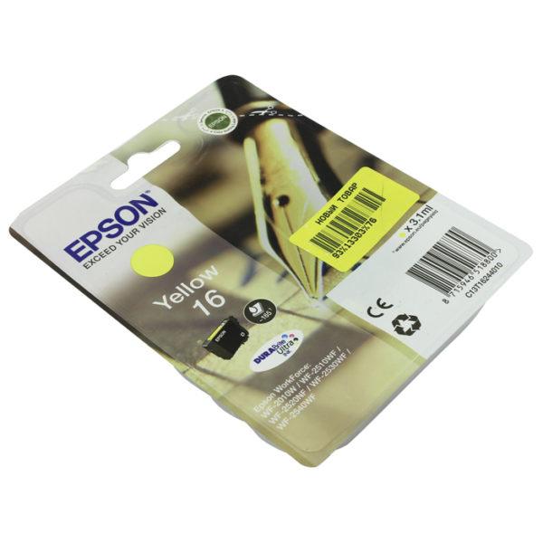 Картридж EPSON C13T16244010 желтый стандартный для WF-2010W