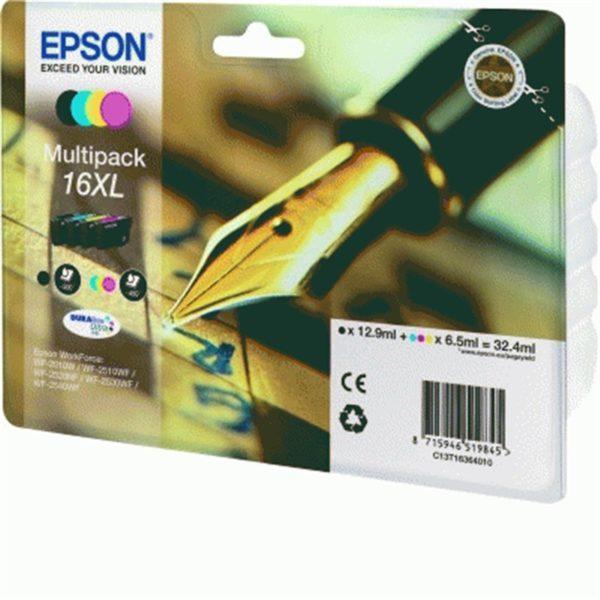 Картридж EPSON C13T16364010 мульти-упаковка увеличенный для WF-2010W