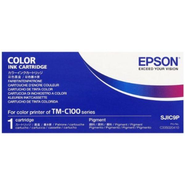 Картридж EPSON C33S020410 мульти-упаковка для TM-C100