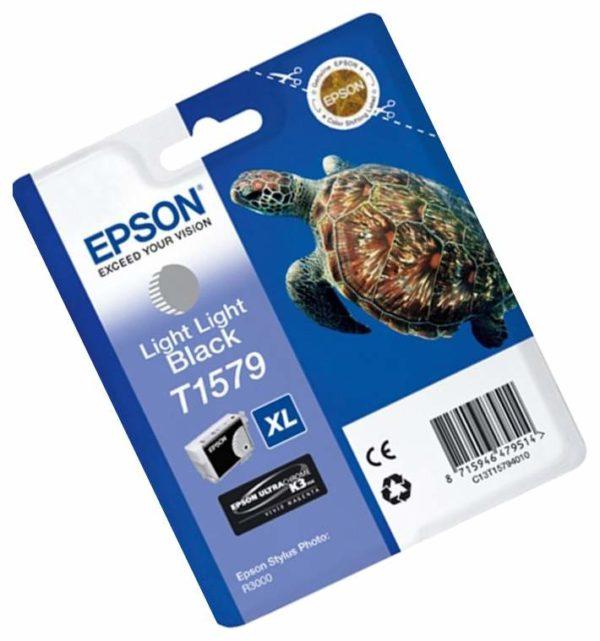 Картридж EPSON T15794010 светло-серый для Stylus Photo R3000