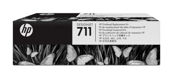 Комплект замены печатающей головки HP C1Q10A для 711