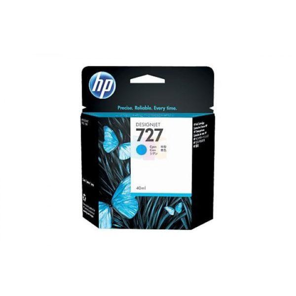 Картридж HP B3P13A №727 с синими чернилами для принтеров Designjet, 40 мл