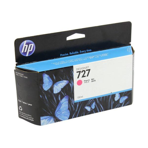 Картридж HP B3P14A №727 с малиновыми чернилами для принтеров Designjet, 40 мл