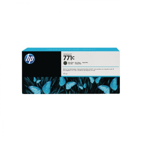 Картридж HP B6Y07A №771C матово-черный для Designjet Z6200 Printer series, 775мл (замена CE037A)