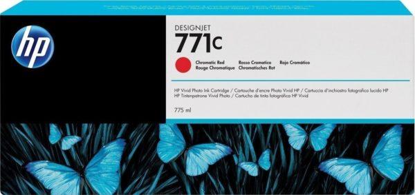 Картридж HP B6Y09A №771C малиновый для Designjet Z6200 Printer series, 775мл (замена CE039A)