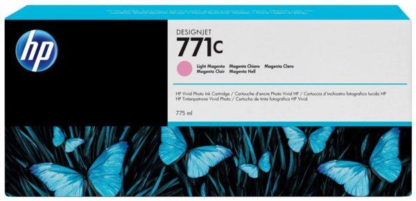 Картридж HP B6Y11A №771C светло-малиновый для Designjet Z6200 Printer series, 775мл