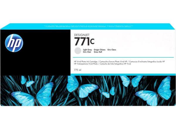Картридж HP B6Y14A №771C светло-серый для Designjet Z6200 Printer series, 775мл