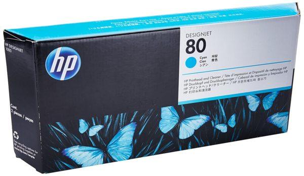 Печатающая головка HP C4821A №80 синяя для DJ 1xxx