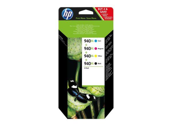 Картридж HP C2N93AE (C4906A+C4907A+C4908A+C4909A) мульти-упаковка для OJPRO8000/8500