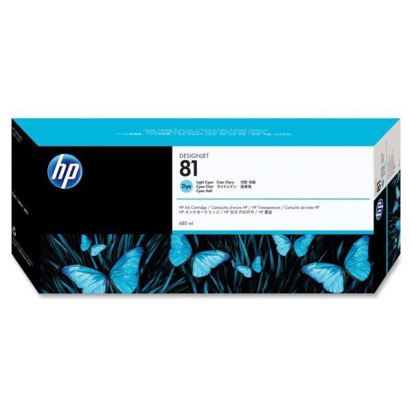 Картридж HP C4934A №81 светло-голубой для 5000/5500