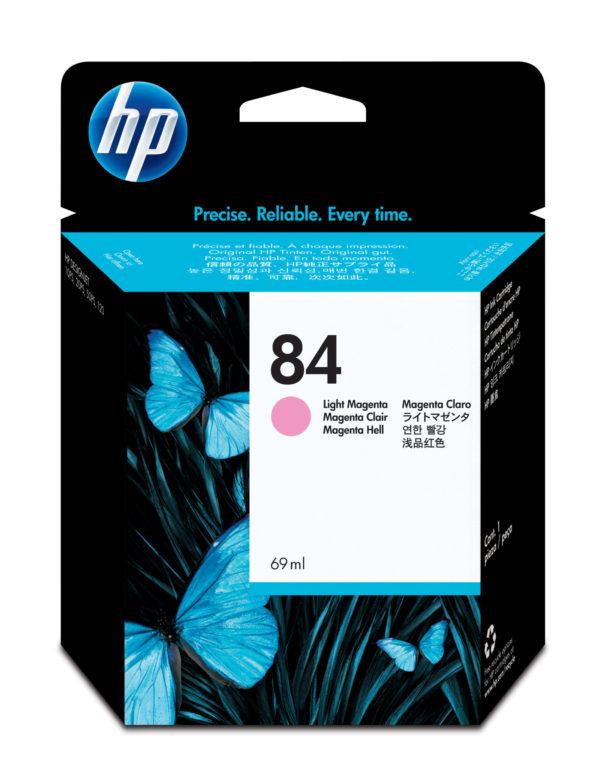 Картридж HP C5018A №84 светло-малиновый для 10/20/50