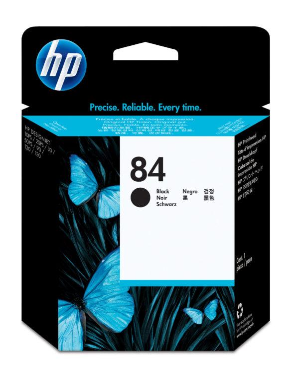 Картридж HP C5019A №84 черный для 10/20/50