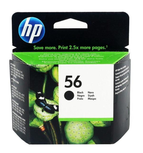 Картридж HP C6656AE №56 черный для Photosmart 5550/7150/7350