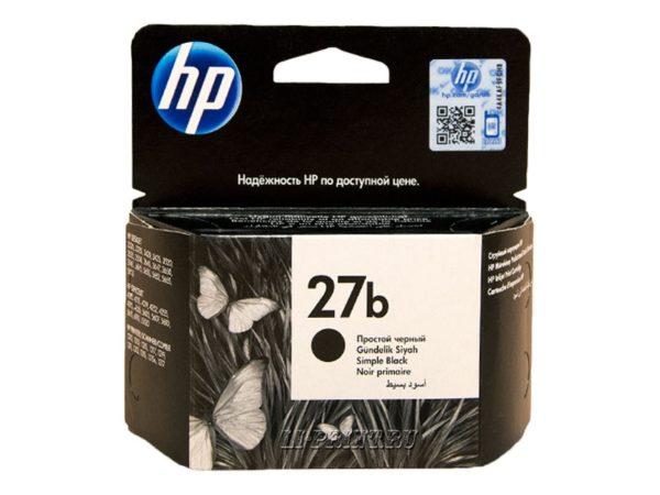 Картридж HP C8727BE №27B черный для 3320/3420