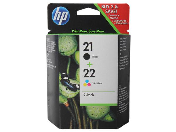 Картридж HP C9351АE + C9352AE №21 черный+цветной для 3920/3940/PCS1410